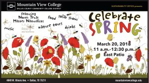 Celebrate Spring at Mountain View College @ Mountain View College
